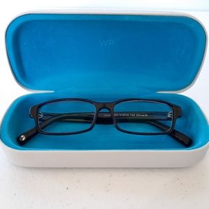 Warby Parker Reece Midnight Blue Glasses with Case